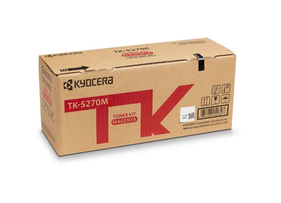 Фото - Тонер-картридж Kyocera TK-5270M для P6230cdn/M6230cidn/M6630cidn тонер картридж kyocera tk 3060 для m3145idn m3645idn