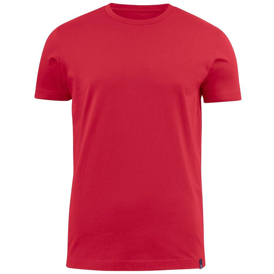 Футболка мужская AMERICAN U красная, размер XL футболка мужская goodfluropower цвет черный 14 1609 размер xl 52