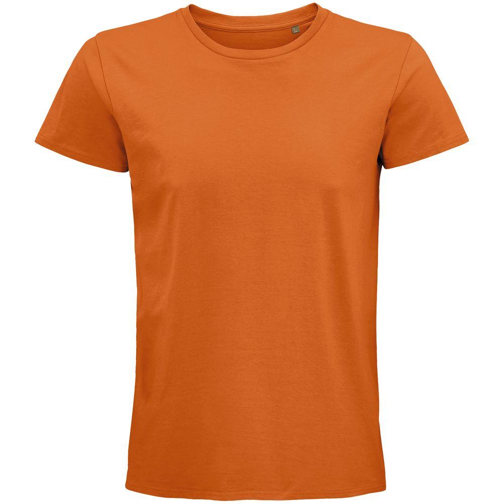 Футболка мужская Pioneer Men, оранжевая, размер S футболка женская pioneer women оранжевая размер s
