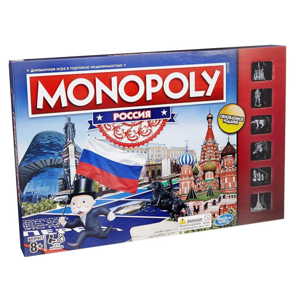 цена на Игра настольная «Монополия. Россия»
