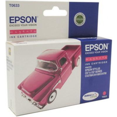 Картридж с пурпурными чернилами T0633 (C13T06334A10) картридж epson c13t06334a10