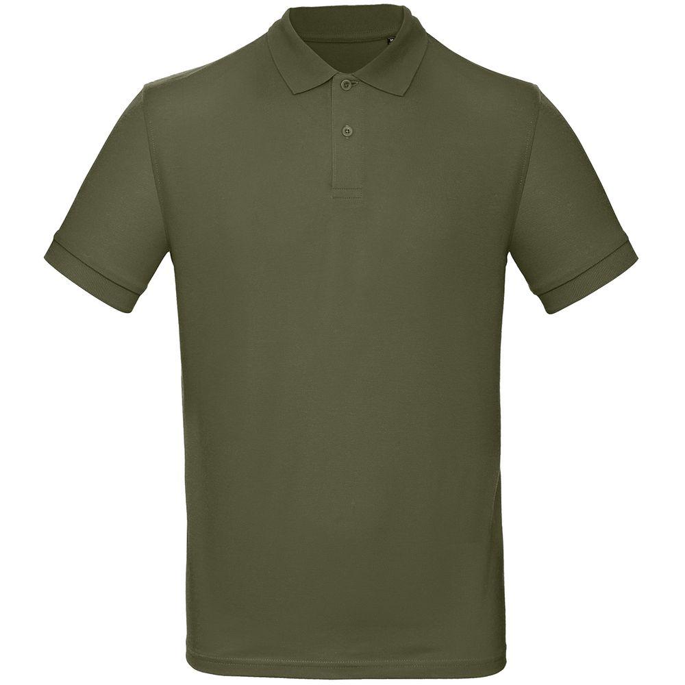 Рубашка поло мужская Inspire хаки, размер L фото