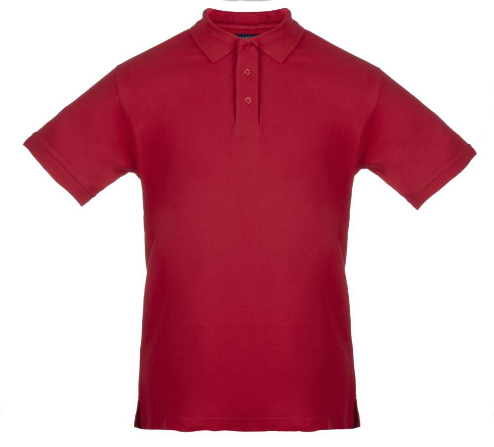 Рубашка поло мужская MORTON, красная, размер XXL рубашка поло мужская morton черная размер s