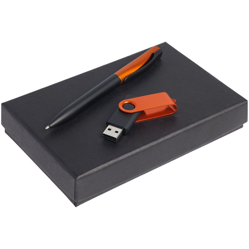 Набор Twist Fashion, черный с оранжевым, 16 Гб
