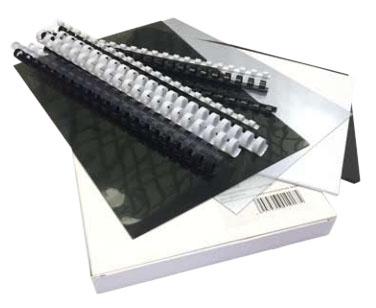 Фото - Стартовый набор обложек и пружин для переплета Office Kit office 3150l