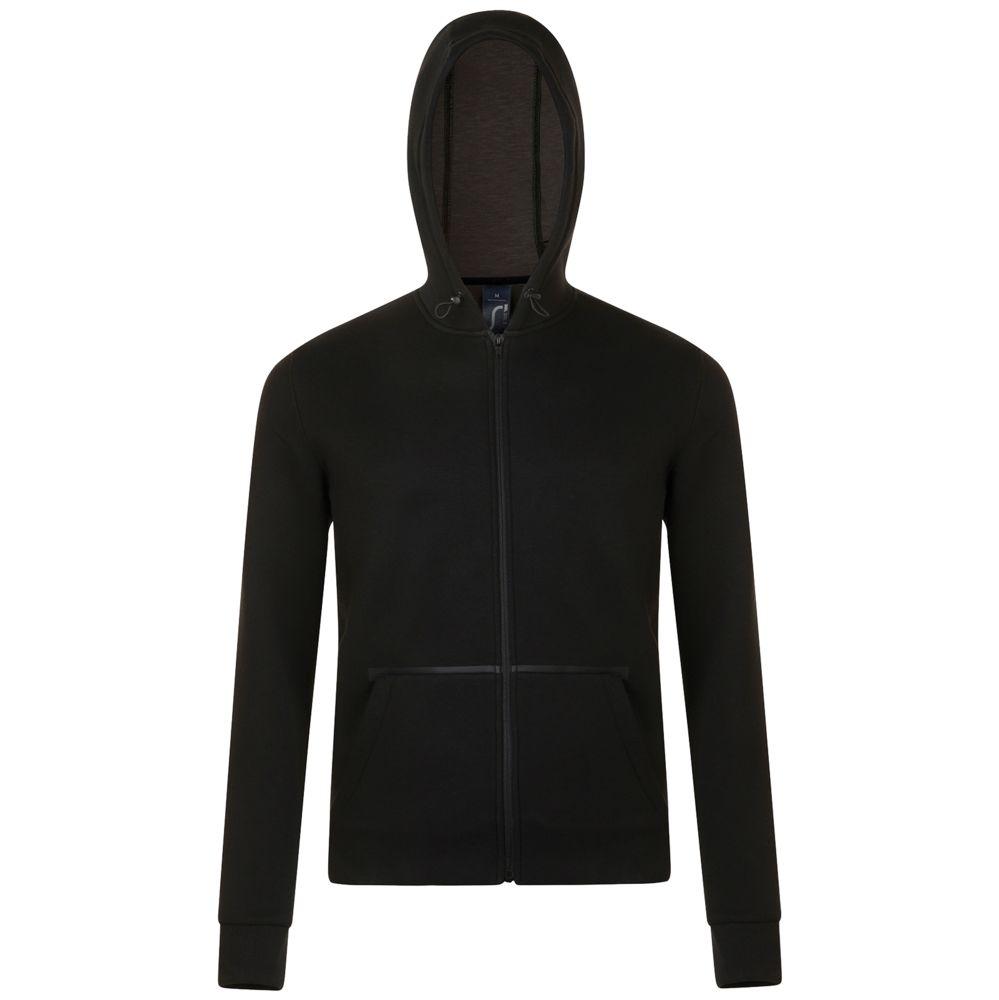 Куртка унисекс VOLT черная, размер M