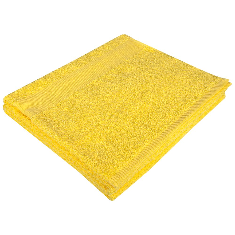 Полотенце махровое Soft Me Large, желтое