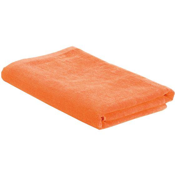 Пляжное полотенце в сумке SoaKing, оранжевое фото