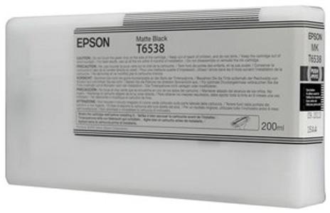 Epson T6538 Matte Black 200 мл (C13T653800) epson t6925 matte black 110 мл c13t692500