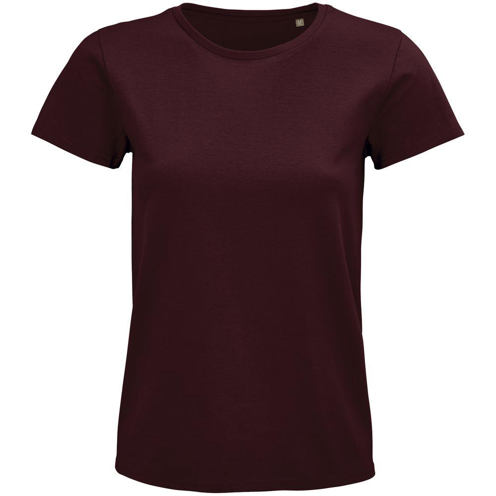Фото - Футболка женская Pioneer Women, бордовая, размер L футболка женская pioneer women хаки размер l
