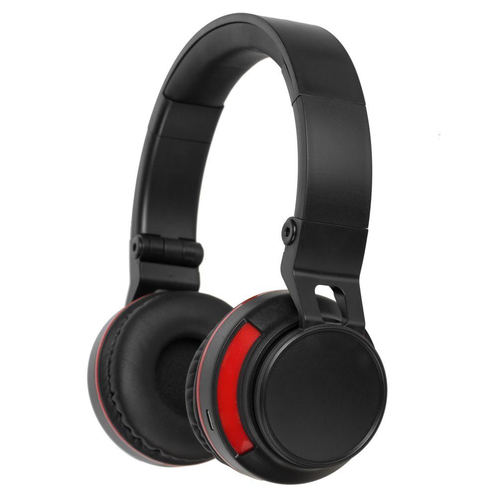 Фото - Bluetooth наушники Dubstep с красной отделкой шуба из меха кролика с отделкой натуральной замшей