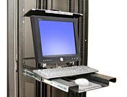 Складная система крепления Ergotron MD 102 монитора и клавиатуры в 19 рэковую стойку (57-013-200)