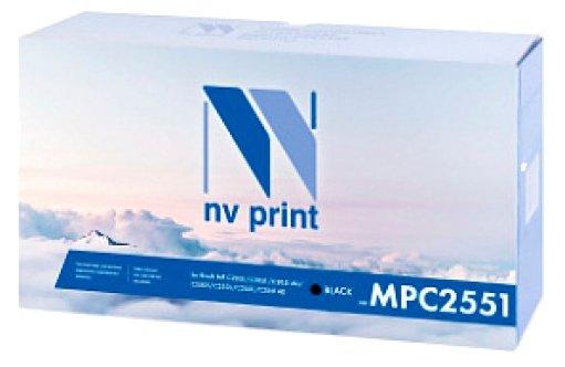 Картридж NVP MP C2551K картридж nvp mp c2551c