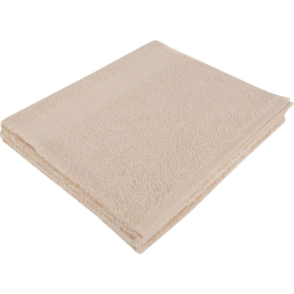 Полотенце махровое Soft Me Large, бежевое