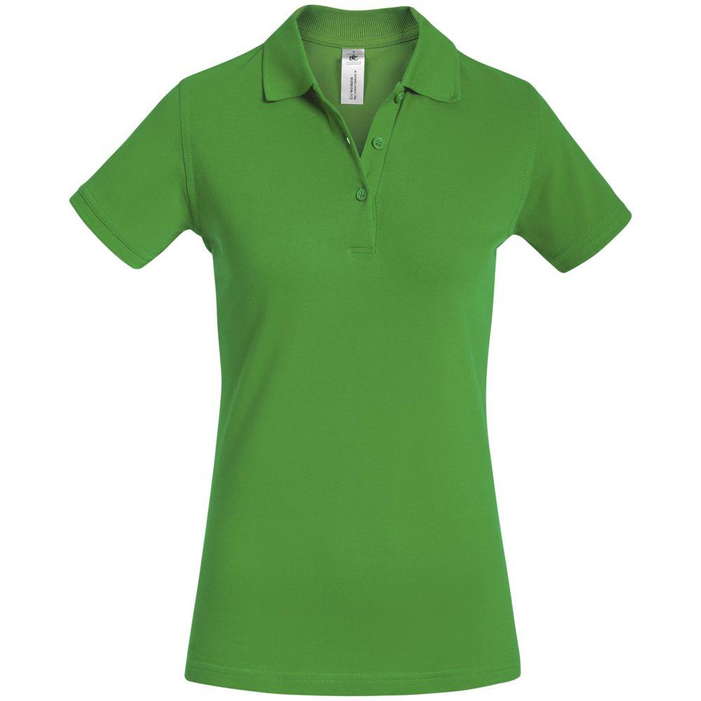 Рубашка поло женская Safran Timeless зеленое яблоко, размер L