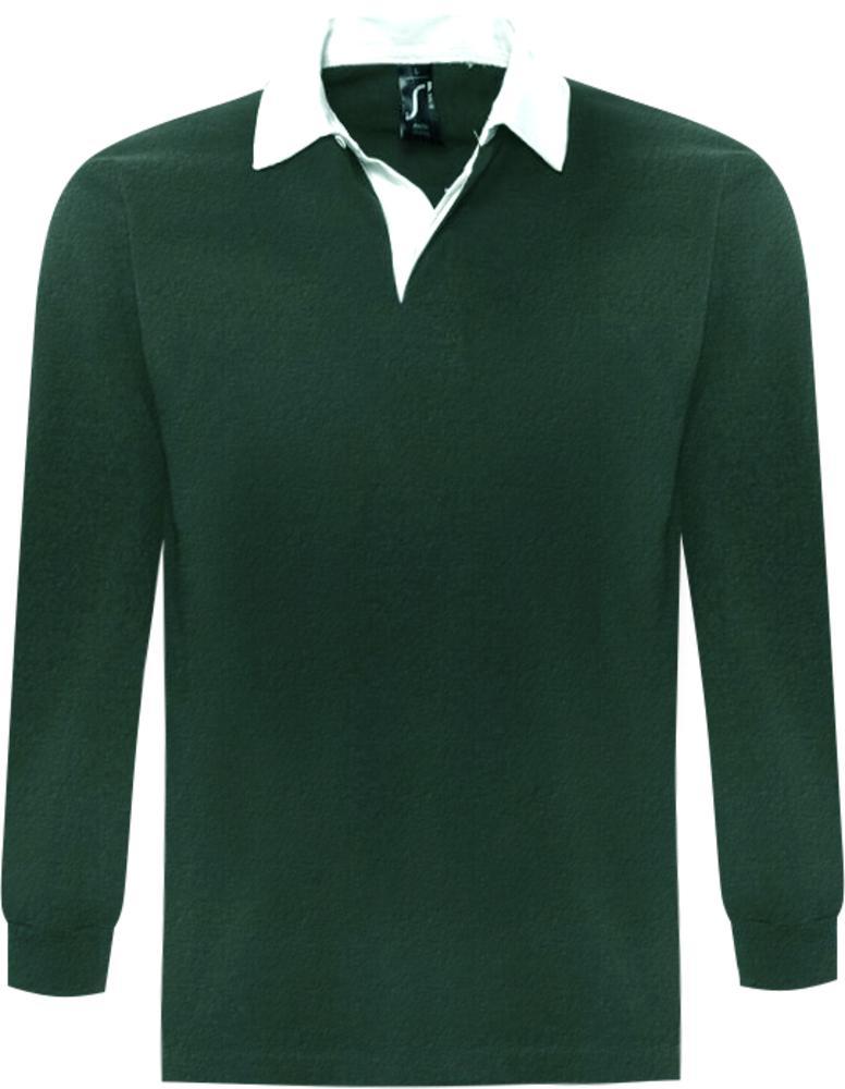Фото - Рубашка поло мужская с длинным рукавом PACK 280 темно-зеленая, размер L lewis pack 23 l