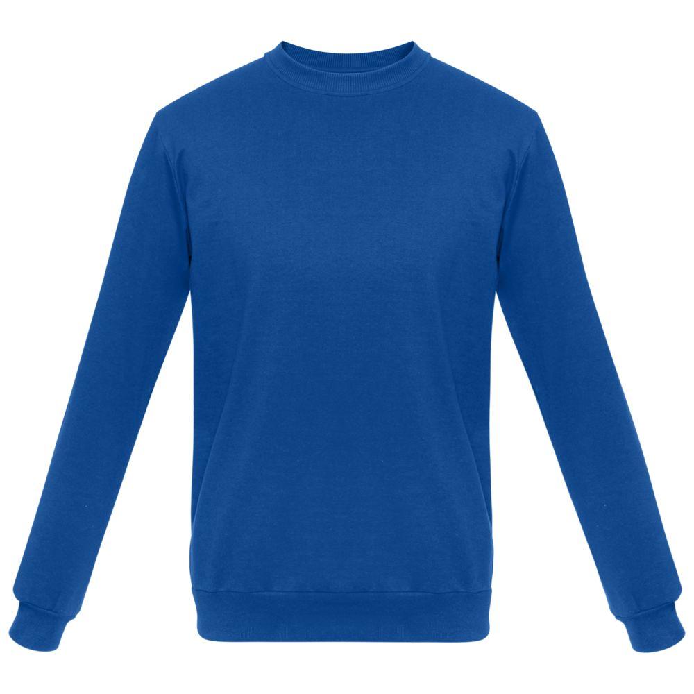 Толстовка Unit Toima ярко-синяя, размер 4XL