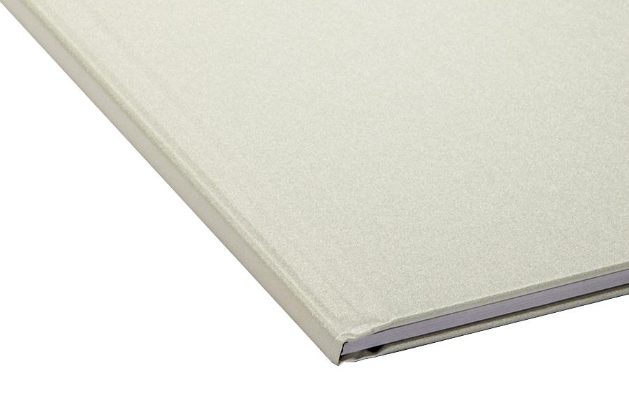 Папка для термопереплета , твердая, 40, жемчужная папки канцелярские centrum папка регистр а4 5 см фиолетовая