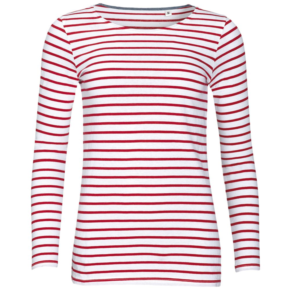 Футболка женская MARINE WOMEN, белый/красный, размер L футболка женская marine women белый красный размер xs
