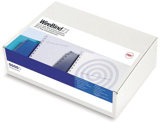Фото - Металлическая пружина GBC IB165085, 6 мм, Белые, 100 шт стяжка липучка 6 шт black