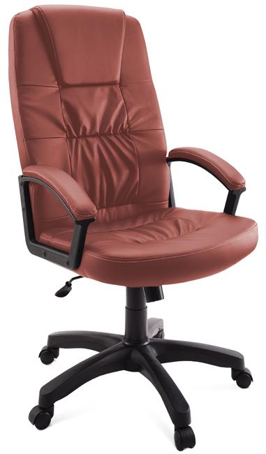 Кресло руководителя Гелеос Гранд, гранатовое