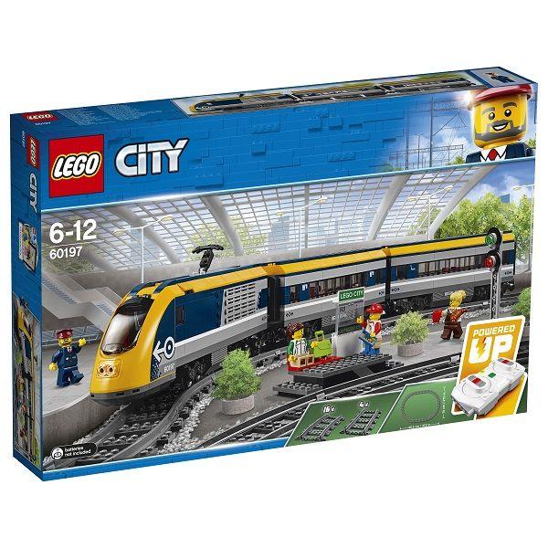 Конструктор «LEGO City. Пассажирский поезд»