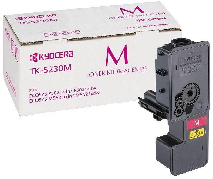 Фото - Тонер-картридж Kyocera TK-5230M тонер картридж kyocera tk 140 1t02h50euc black