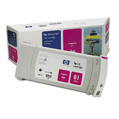 HP DesignJet 81 Dye Magenta 680 мл (C4932A) 1 set compatible print head 6 color for hp 81 for designjet 5000 5500 5500ps for hp81 printhead c4950a c4955a cartridge head
