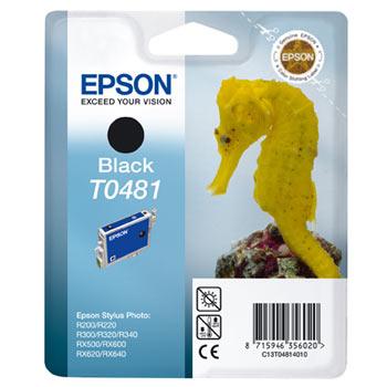 Фото - Картридж черный Epson T0481 для R200, R300 (C13T04814010) картридж epson c13t616100 для epson b300 черный