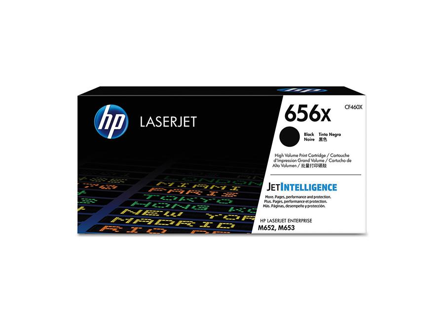 Тонер-картридж HP LaserJet 656X черный (CF460X)