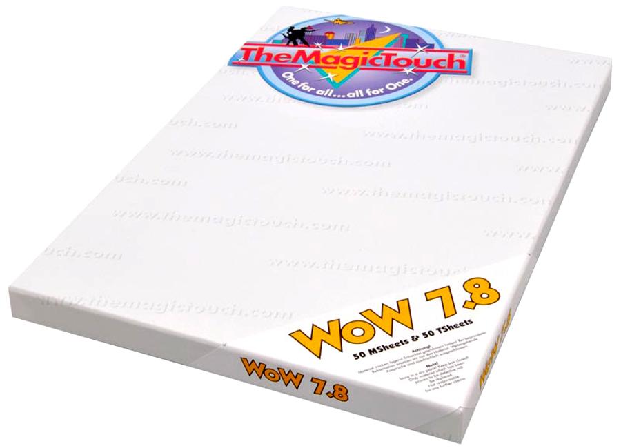 The Magic Touch WoW 7.8/50 A3, TSheet/MSheet (Термотрансферная бумага для черного и темного текстиля) фото