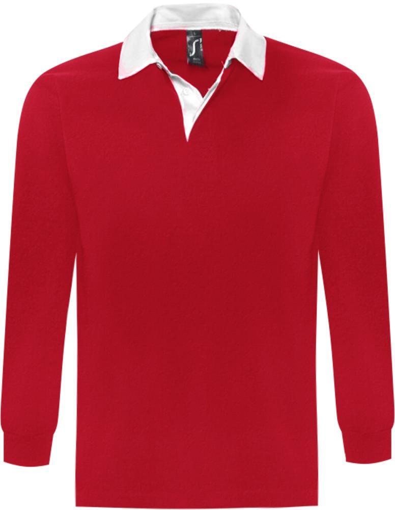 Фото - Рубашка поло мужская с длинным рукавом PACK 280 красная, размер L lewis pack 23 l