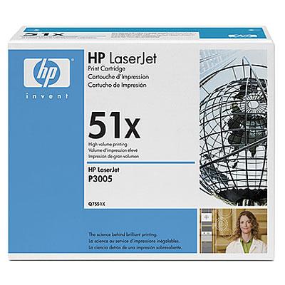 Тонер-картридж HP Q7551X