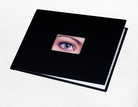 Фото - Unibind альбомная 7 мм, черный корпус с окном №3 корпус