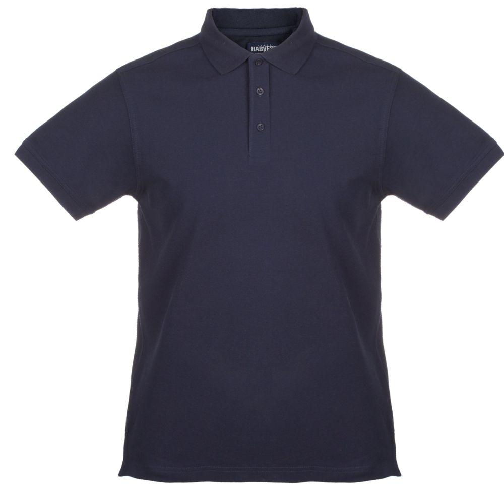 Рубашка поло мужская MORTON, темно-синяя, размер XL рубашка поло мужская morton черная размер s