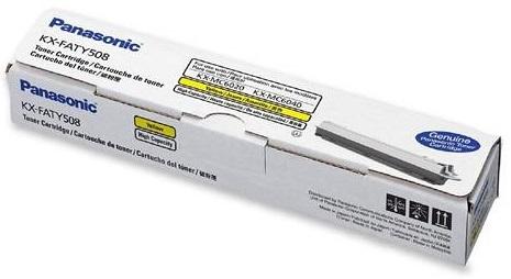 Фото - Тонер Panasonic KX-FATY507A наушники panasonic rp hs34e y yellow проводные вкладыши без микрофона 10 25000 гц 112 дб minijack 3 5 мм