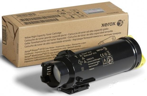 Фото - Тонер-картридж Xerox 106R03695 картридж лазерный xerox 106r03695 желтый 4300стр для xerox p6510 wc6515