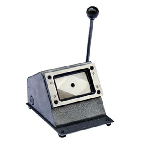 Вырубщик ID карт из картона ID5486 вырубщик фото 35х45 ручной