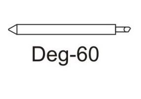 Фото - Нож Deg-60 для плотных материалов (угол 60) для плоттеров Graphtec детский крем для лица 0 60 мл mommy care новорожденные
