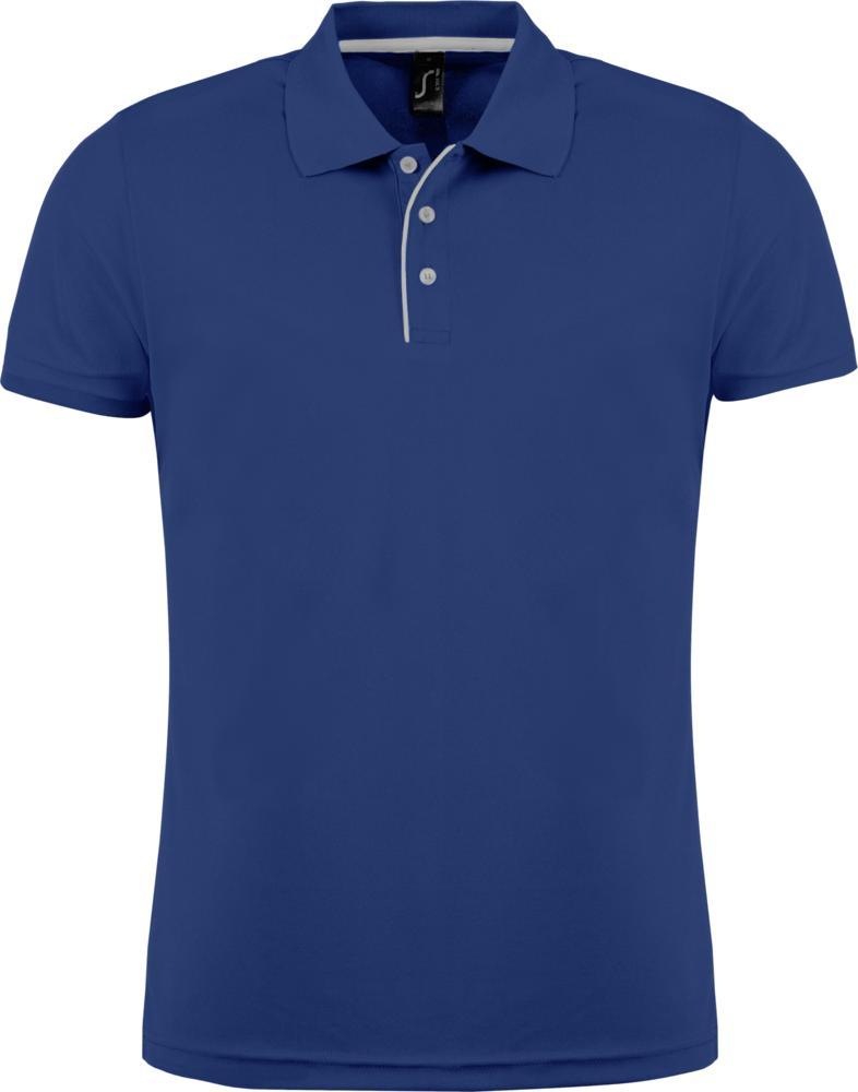 Рубашка поло мужская PERFORMER MEN 180 темно-синяя, размер S рубашка поло мужская phoenix men темно синяя размер s