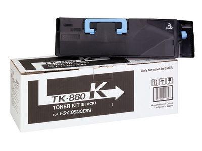 Фото - Тонер-картридж Kyocera TK-880K тонер картридж kyocera tk 880k