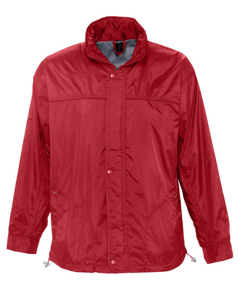 Ветровка мужская MISTRAL 210 красная, размер S ветровка мужская helly hansen crew hooded jacket цвет синий 33875 597 размер s 46