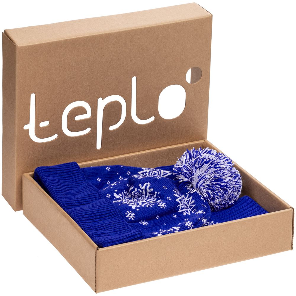Набор Snow Fashion, синий (василек), размер XL