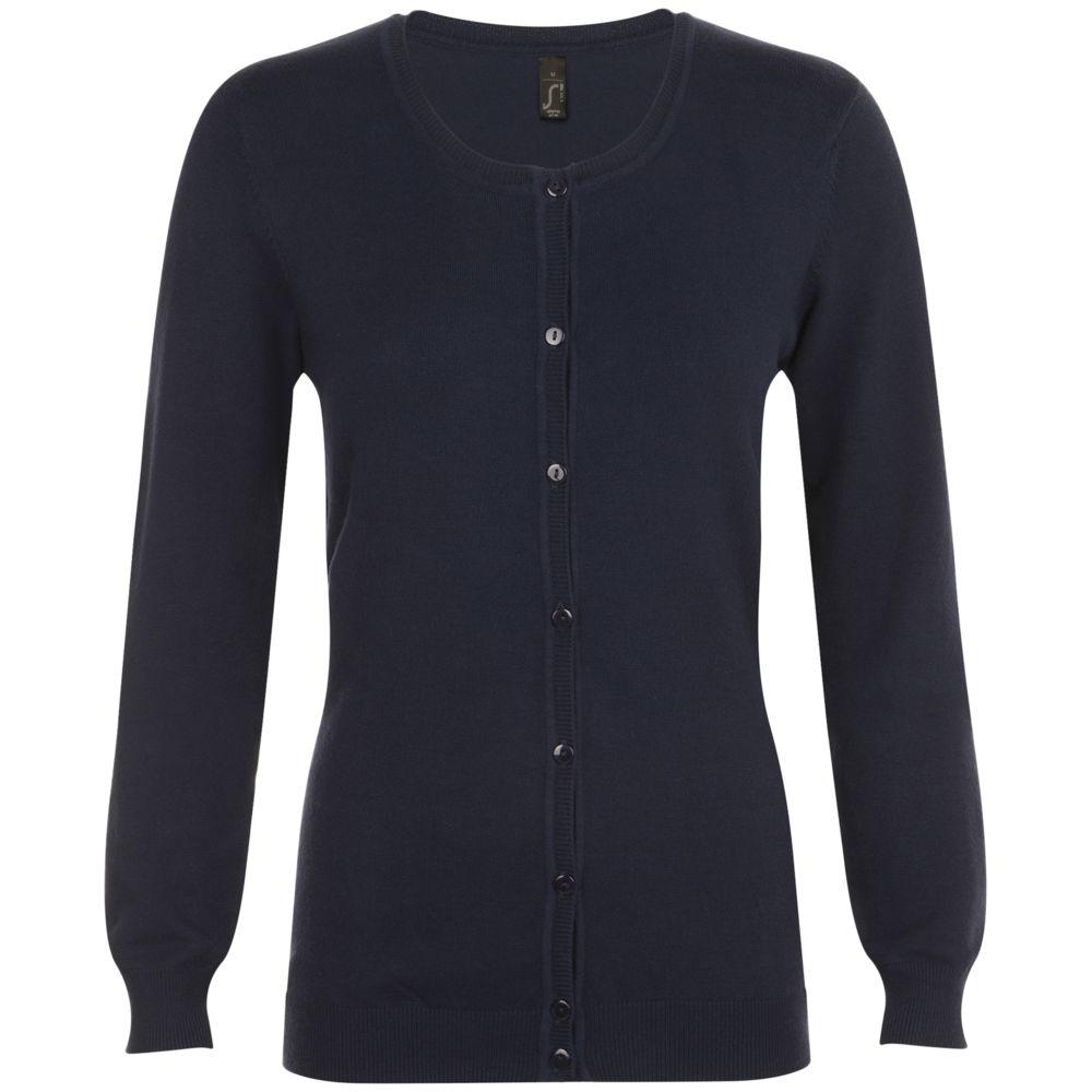 Кардиган женский GRIFFIN темно-синий, размер XS кардиган женский united colors of benetton цвет сиреневый 1012d5079 3c6 размер xs 40 42