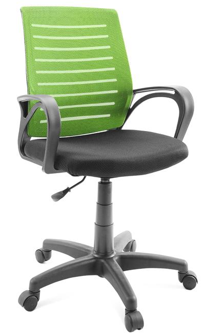 Кресло оператора Гелеос Бонд, зеленое фото