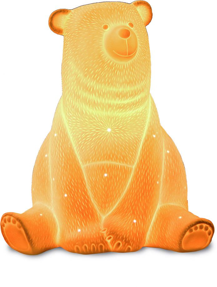 Фото - Светильник керамический «Медведь» светильник светодиодный облако