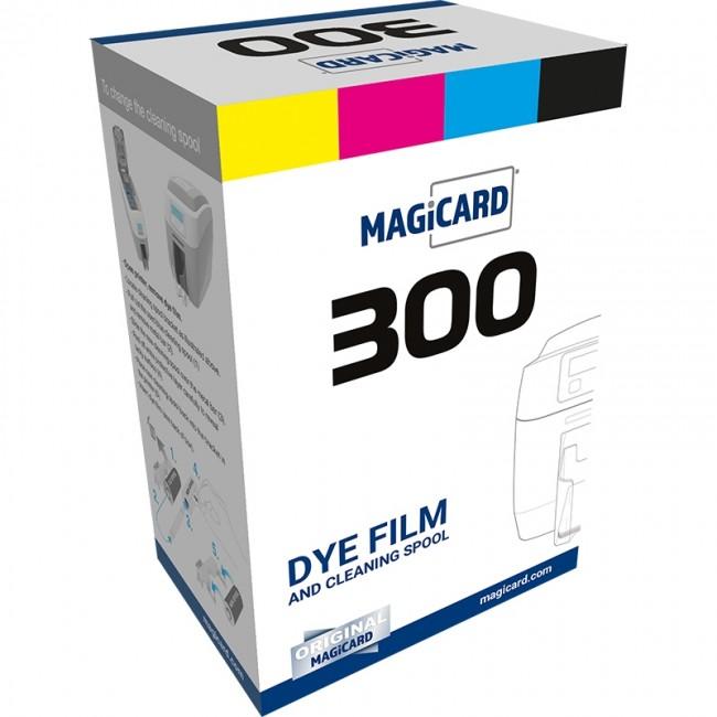 Фото - Полноцветная лента XB250YMCKOK/3 для принтеров 600 лента для цветной печати на 200 отпечатков для принтеров magicard 300