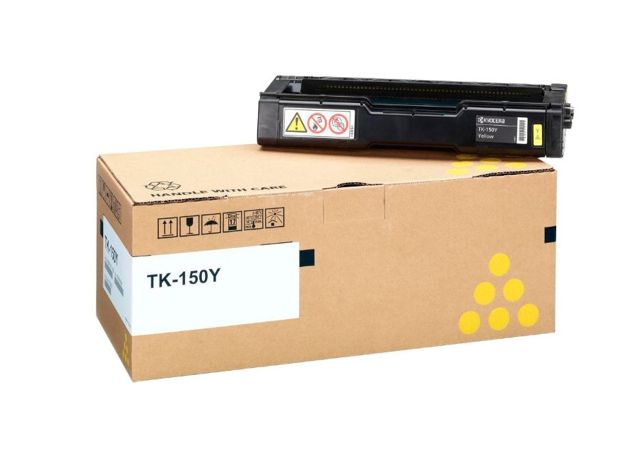 Фото - Тонер-картридж Kyocera TK-150Y тонер картридж kyocera tk 880k