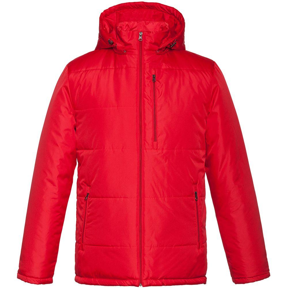 Куртка Unit Tulun, красная, размер L фото