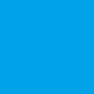 Термотрансферная пленка полиуретановая SMTF PU, неон голубая